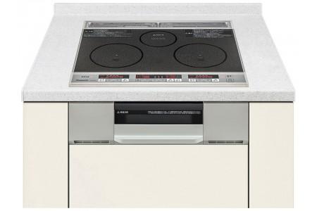 Bếp từ Panasonic KZ-G32AS loại hai bếp từ một bếp hồng ngoại và lò nướng