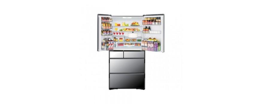 Tủ lạnh Hitachi R-WX74K dung tích 735L gồm 6 cánh gương