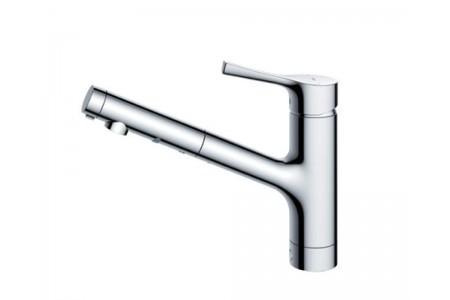 Vòi rửa nhà bếp TOTO TKS05305J chức năng kéo dài đầu vòi và Eco tiết kiệm nước