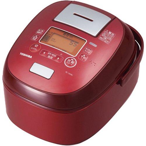 Nồi cơm điện Toshiba RC-18VRJ-R (đỏ) loại 1.8L hút chân không ruột dầy có chống dính