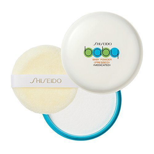 Phấn rôm nén Shiseido Baby Powder
