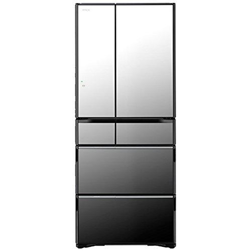 Tủ lạnh Hitachi R-WX6200G X (đen gương) với 6 cửa có ngăn hút chân không