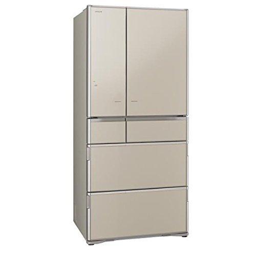 Tủ lạnh HITACHI R-X6700F-XN(vàng) 6 cửa hút chân không cửa điện trợ lực