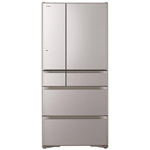 Tủ lạnh Hitachi R-XG6700G-XN với 670L 6 cửa mặt gương