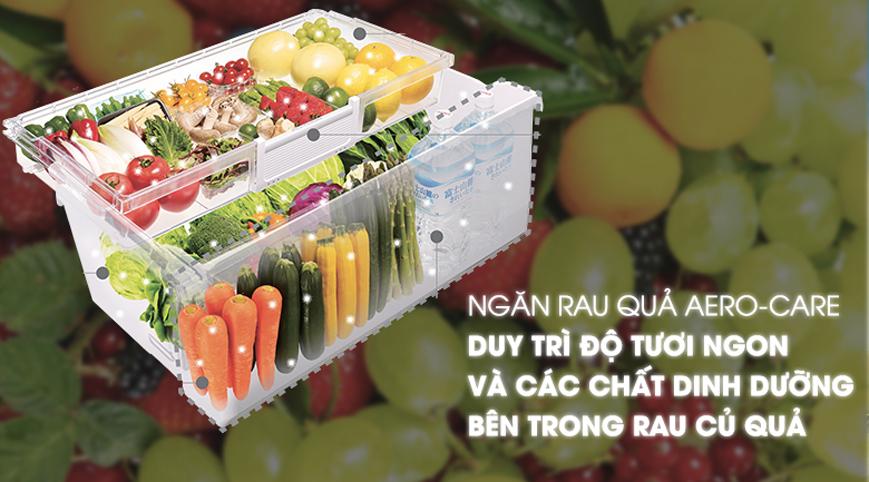 Tủ lạnh Hitachi R-HW60J dung tích 600L, có ngăn hút chân không