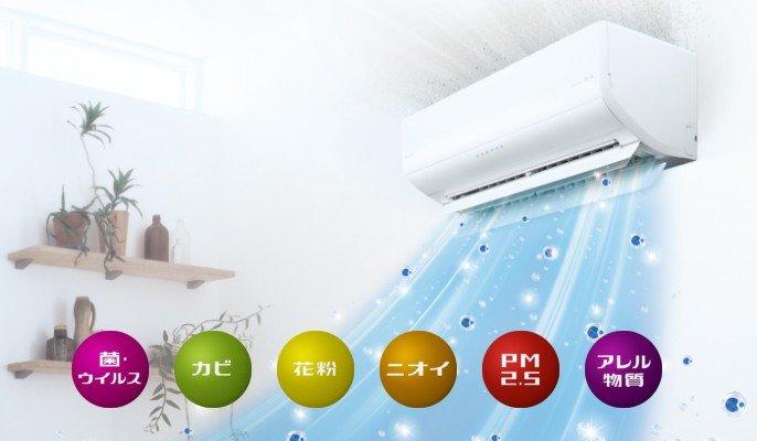 Điều hòa Panasonic CS-280DFL12000BTU thiết kế 2 chiều có Inverter