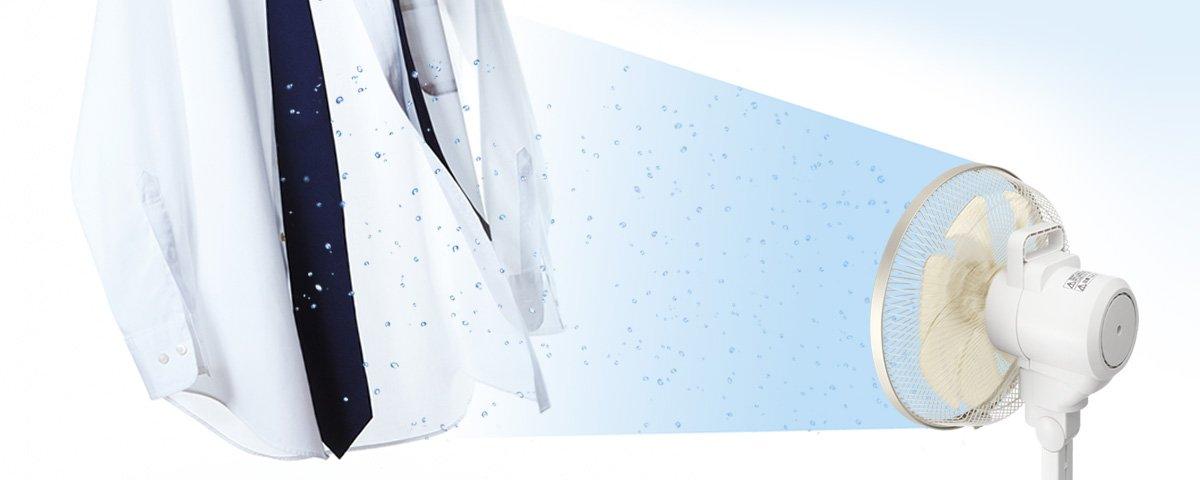 Quạt điện Panasonic F-CT339 động cơ DC và tạo NanoE khử mùi diệt khuẩn