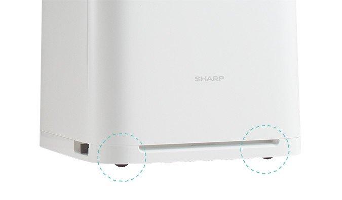 Máy lọc không khí Sharp KI-HS70-H (màu nâu) chức năng cân bằng độ ẩm