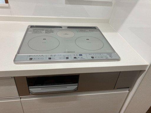 Bếp từ Hitachi HT-K60S hai bếp từ một bếp hồng ngoại có lò nướng