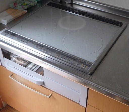 Faker from Mitsubishi CS-G318MS has two kitchen from IH Một bếp hồng ngoại và lò nướng