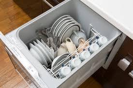 loại âm tủ của máy rửa bát Nhật nội địa
